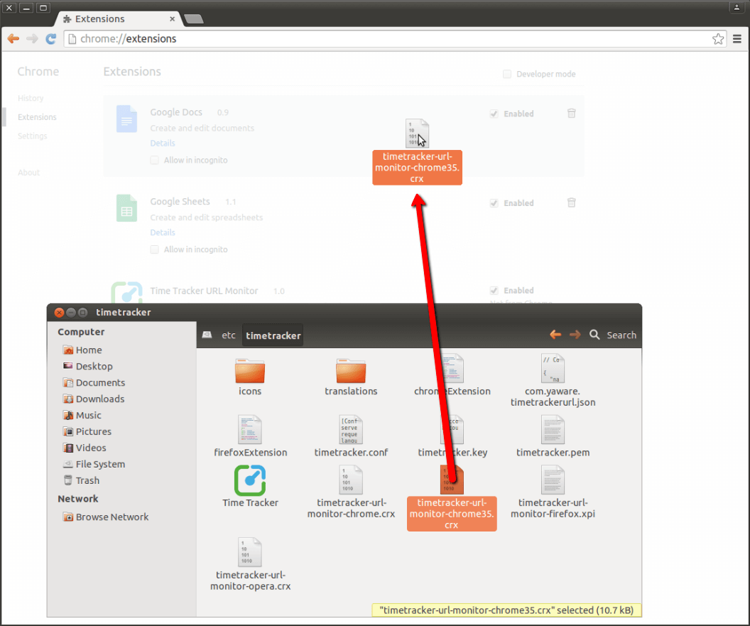 install-yaware-ext-form-dir