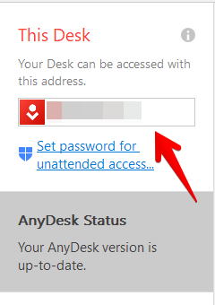AnyDesk ID